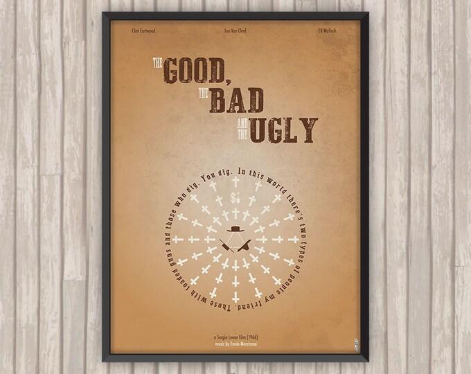 Le BON, La BRUTE et le TRUAND (The Good, The Bad and the Ugly), l'affiche revisitée par Lino la Tomate !