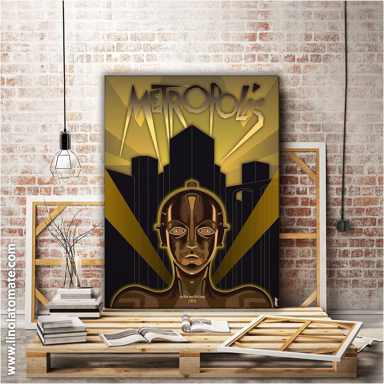 Metropolis L Affiche Revisit 233 E Par Lino La Tomate