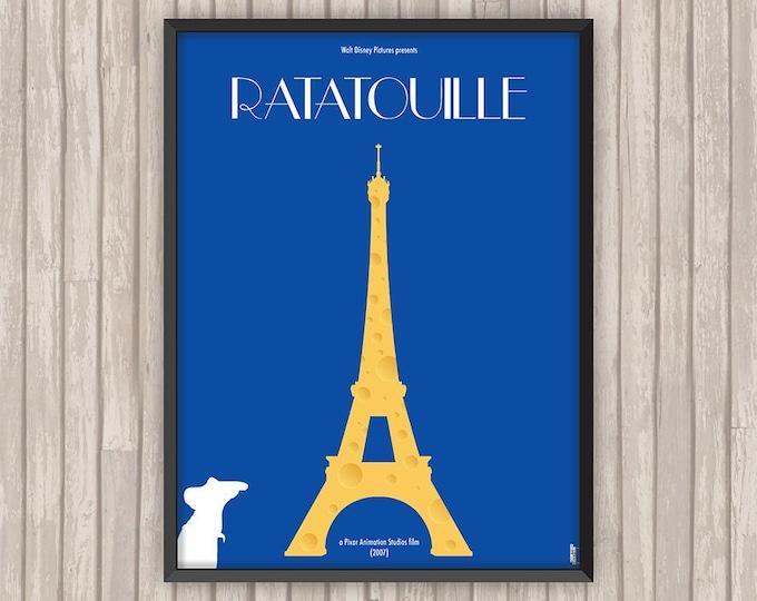RATATOUILLE, l'affiche revisitée par Lino la Tomate !