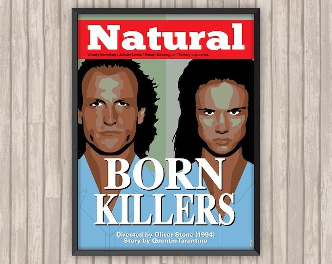 TUEURS NÉS (Natural Born Killers), l'affiche revisitée par Lino la Tomate !