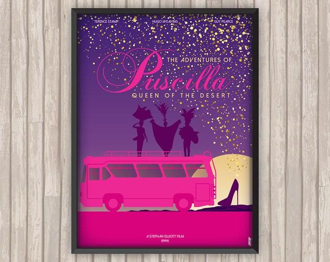 PRISCILLA Folle du Désert (The Adventures of PRISCILLA Queen of the Desert), l'affiche revisitée par Lino la Tomate !