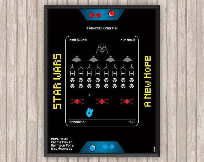 STAR WARS IV, Un Nouvel Espoir (A New Hope), l'affiche revisitée par Lino la Tomate !
