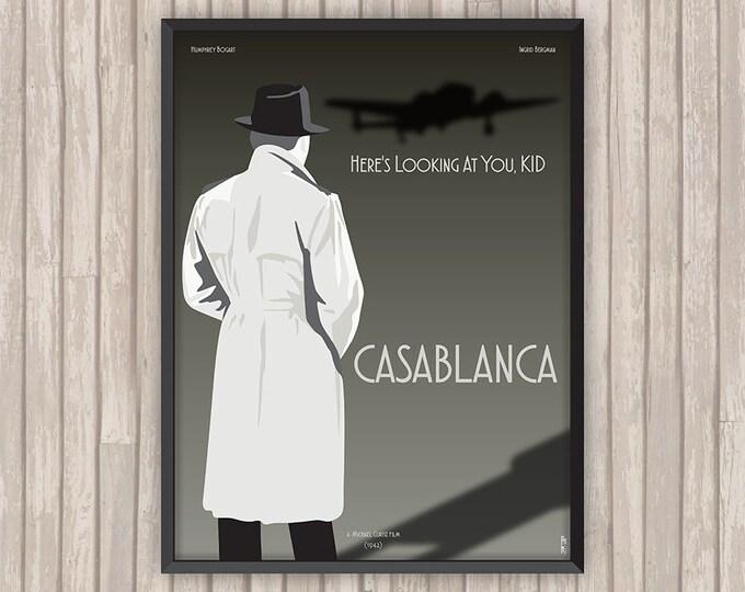 CASABLANCA, l'affiche revisitée par Lino la Tomate !