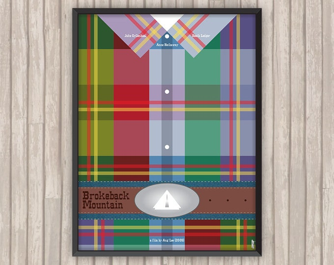 Le SECRET de BROKEBACK MOUNTAIN (Brokeback Mountain), l'affiche revisitée par Lino la Tomate !