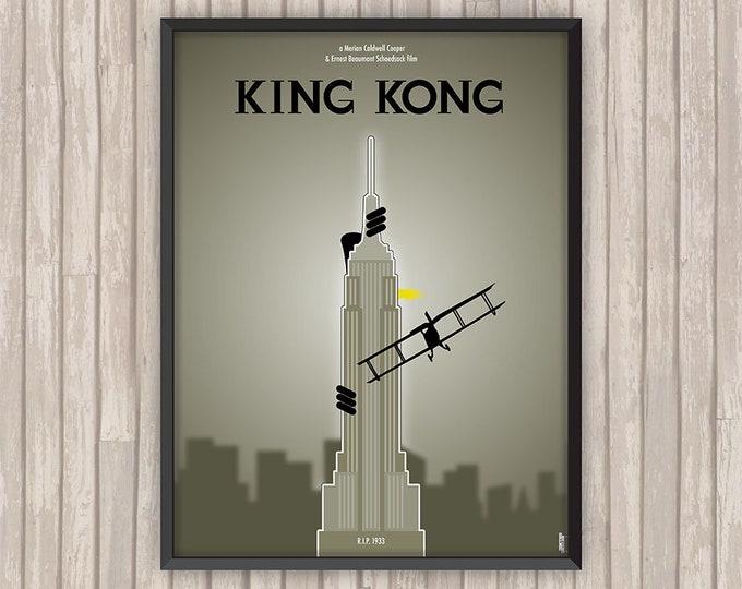 KING KONG, l'affiche revisitée par Lino la Tomate !