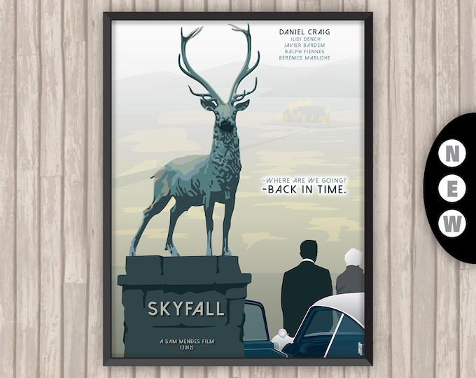 SKYFALL, l'affiche revisitée par Lino la Tomate !