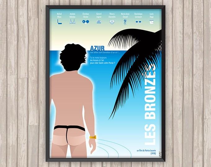 LES BRONZÉS, l'affiche revisitée par Lino la Tomate !