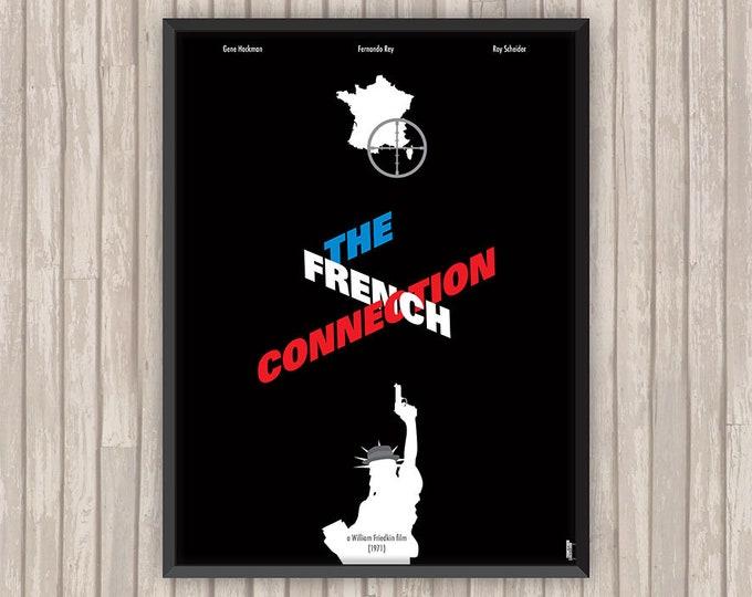 THE FRENCH CONNECTION, l'affiche revisitée par Lino la Tomate !