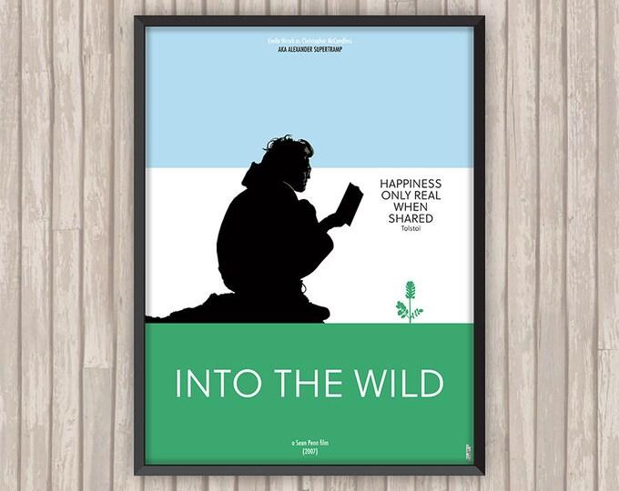 INTO THE WILD, l'affiche revisitée par Lino la Tomate !