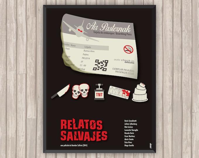 Les Nouveaux Sauvages (RELATOS SAVAJES), l'affiche revisitée par Lino la Tomate !