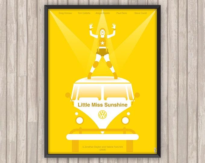 LITTLE MISS SUNSHINE, l'affiche revisitée par Lino la Tomate !