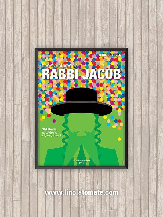 Les aventures de Rabbi Jacob Poster////Les aventures de Rabbi Jacob Movie Poster////