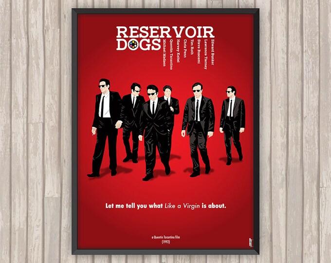 RESERVOIR DOGS, l'affiche revisitée par Lino la Tomate !