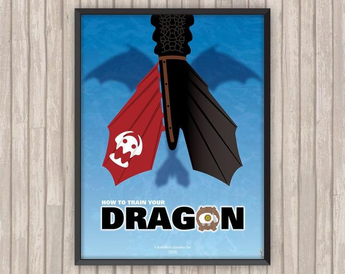 DRAGONS, l'affiche revisitée par Lino la Tomate !