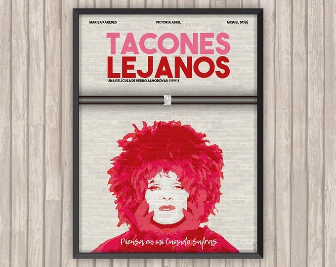 TALONS AIGUILLES (Tacones Lejanos), l'affiche revisitée par Lino la Tomate !