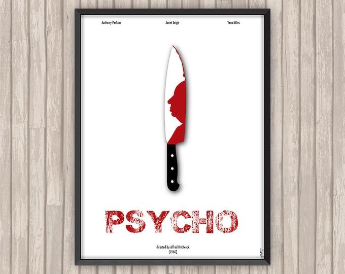 PSYCHOSE (Psycho), l'affiche revisitée par Lino la Tomate !