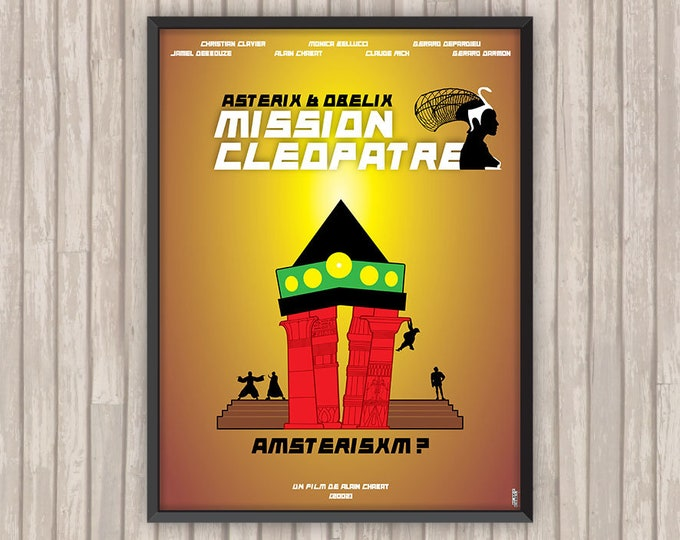 Asterix et Obelix : MISSION CLEOPATRE, l'affiche revisitée par Lino la Tomate !
