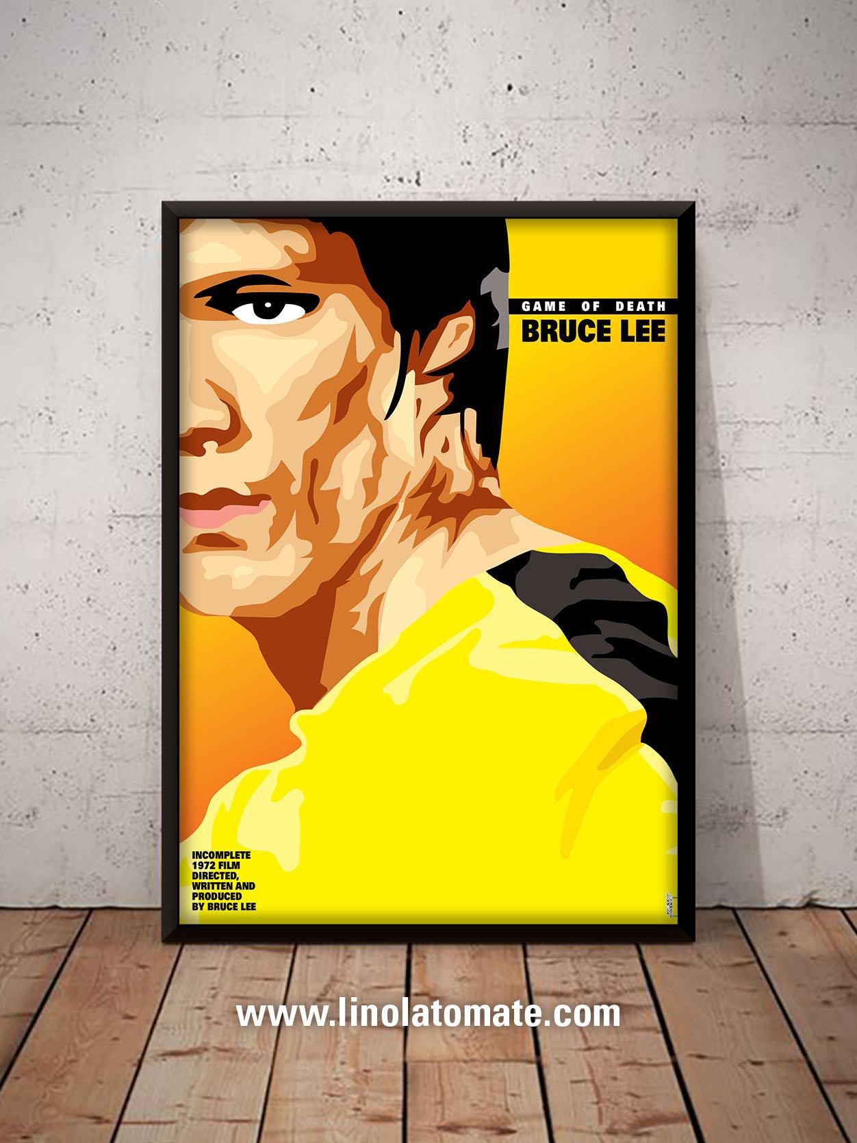 Bruce Lee Le Jeu De La Mort Game Of Death L Affiche