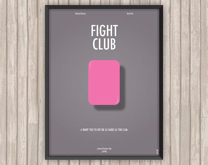 FIGHT CLUB, l'affiche revisitée par Lino la Tomate !