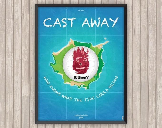 SEUL AU MONDE (Cast Away), l'affiche revisitée par Lino la Tomate !