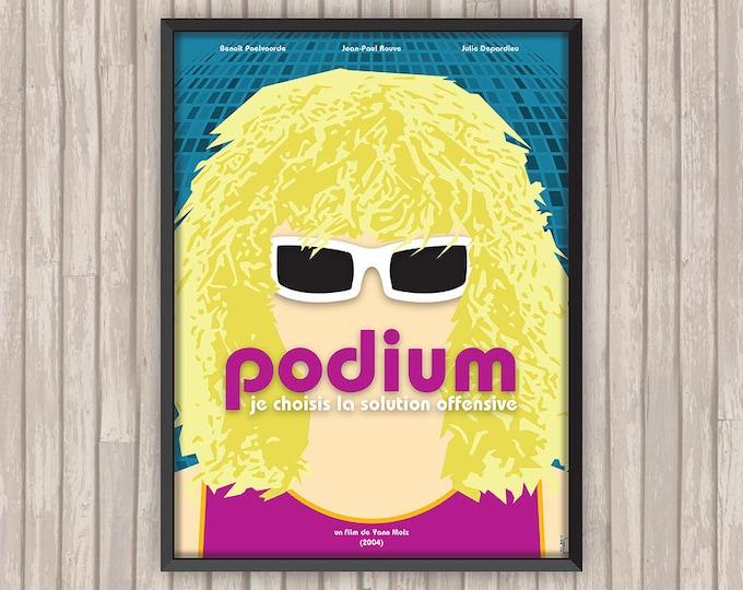 PODIUM, l'affiche revisitée par Lino la Tomate !