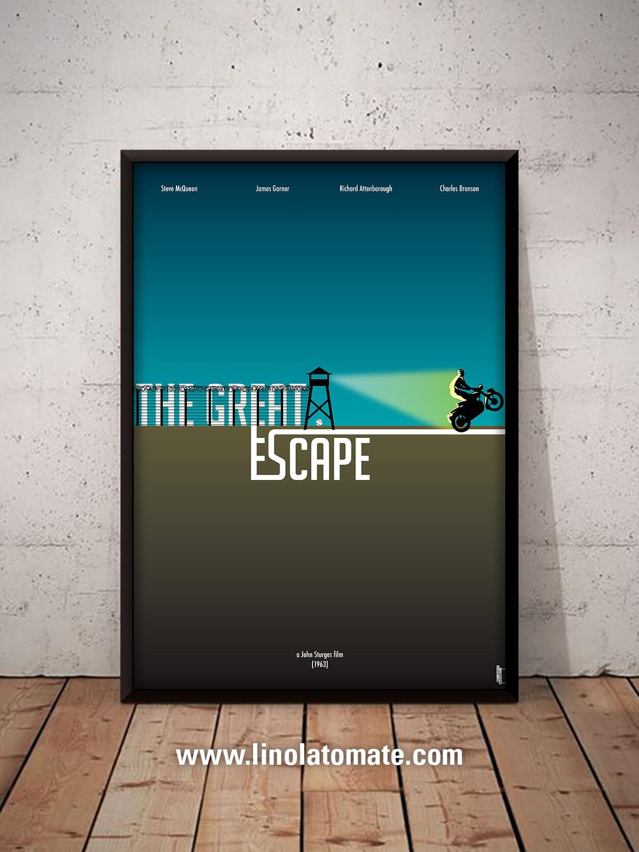 La Grande 201 Vasion The Great Escape L Affiche Revisit 233 E