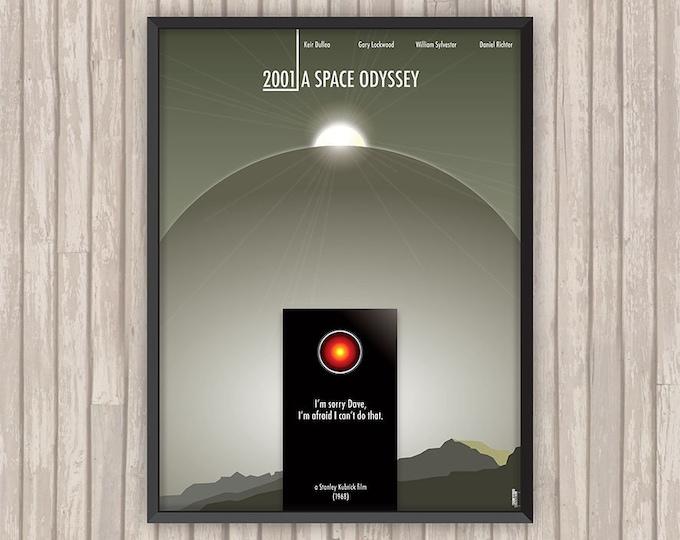 2001, L'ODYSSÉE DE L'ESPACE (2001: A Space Odyssey), l'affiche revisitée par Lino la Tomate !