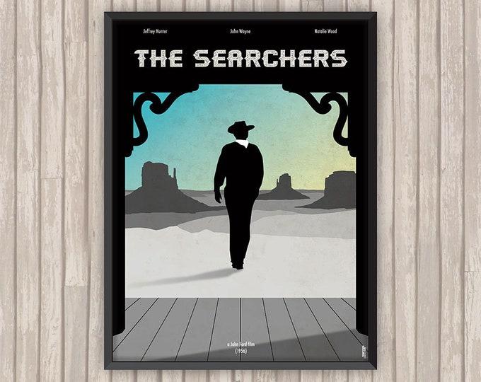 LA PRISONNIÈRE du DÉSERT (The Searchers), l'affiche revisitée par Lino la Tomate !