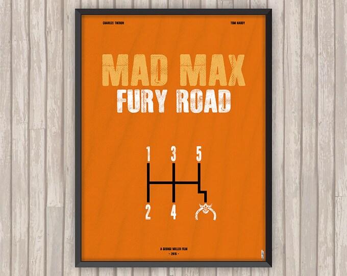 Poster film MAD MAX Fury Road, l'affiche revisitée par Lino la Tomate !