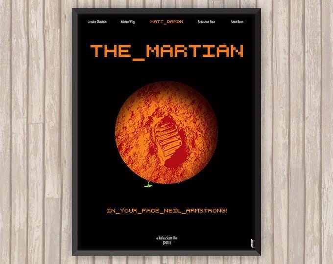 SEUL SUR MARS (The Martian), l'affiche revisitée par Lino la Tomate !