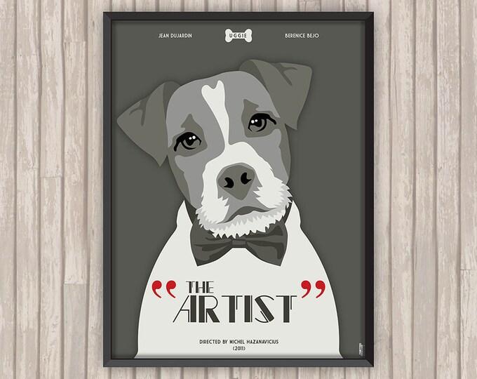 THE ARTIST, l'affiche revisitée par Lino la Tomate !