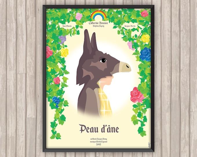 PEAU D'ÂNE, l'affiche revisitée par Lino la Tomate !