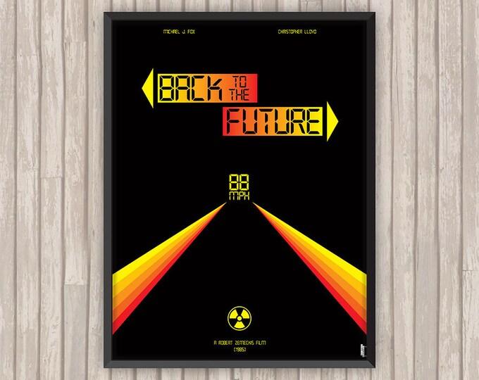 RETOUR vers le FUTUR (Back to the Future), l'affiche revisitée par Lino la Tomate !