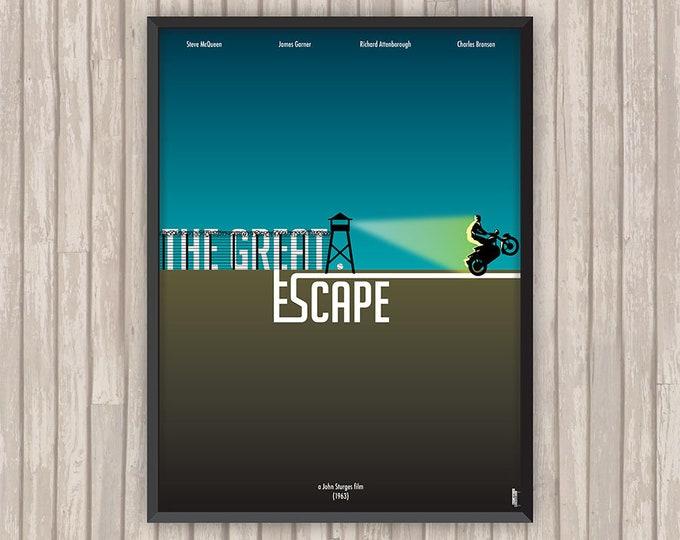 LA GRANDE ÉVASION (The Great Escape), l'affiche revisitée par Lino la Tomate !