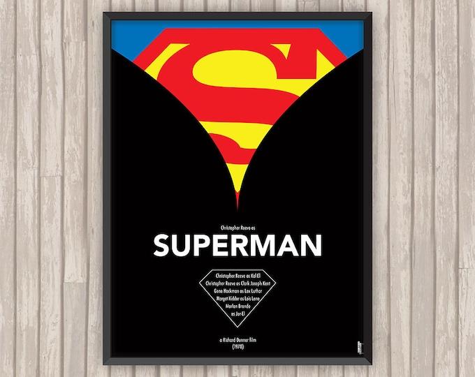 SUPERMAN, l'affiche revisitée par Lino la Tomate !