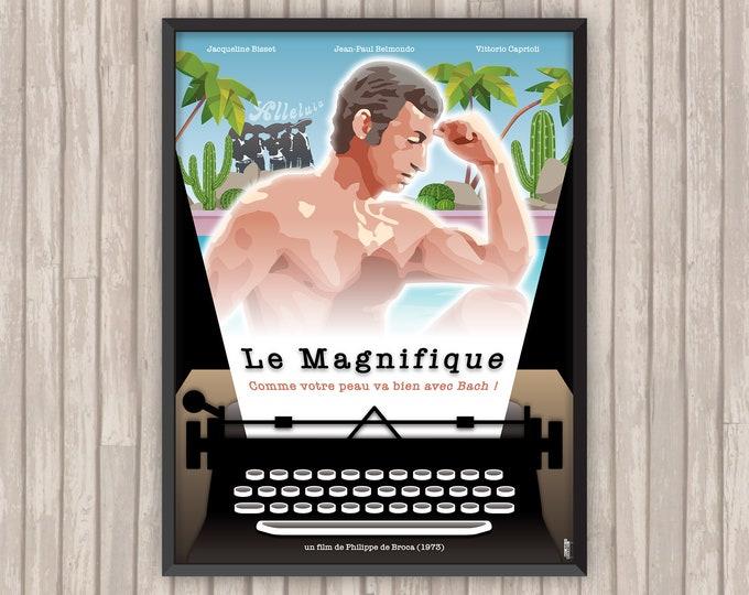 LE MAGNIFIQUE, l'affiche revisitée par Lino la Tomate !
