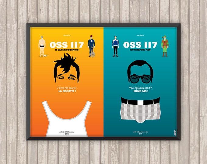 DIPTYQUE OSS 117, l'affiche revisitée par Lino la Tomate !