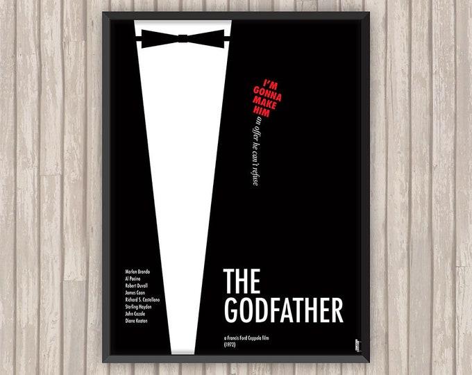 LE PARRAIN (The Godfather), l'affiche revisitée par Lino la Tomate !