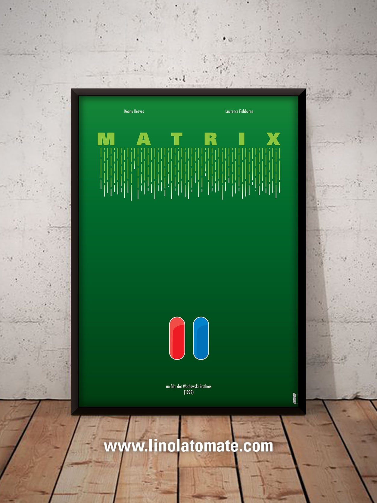 Matrix The Matrix L Affiche Revisit 233 E Par Lino La Tomate