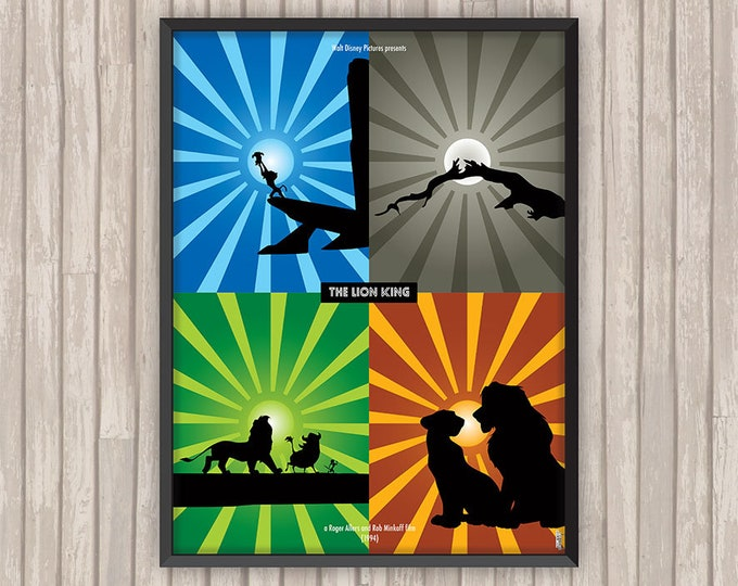 LE ROI LION (The Lion King), l'affiche revisitée par Lino la Tomate !