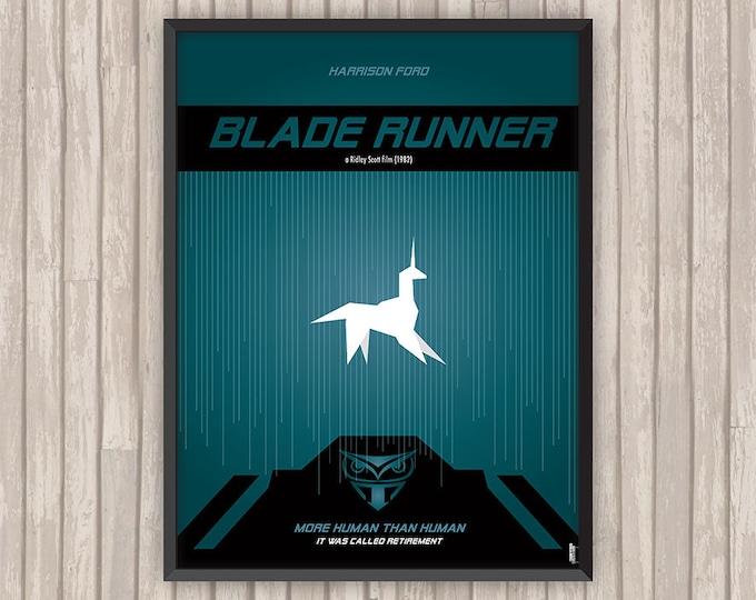 BLADE RUNNER, l'affiche revisitée par Lino la Tomate !