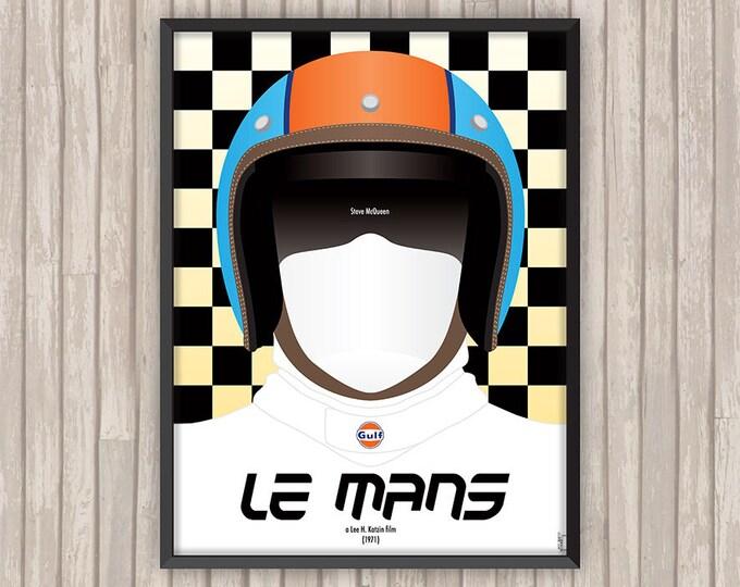 LE MANS, l'affiche revisitée par Lino la Tomate !
