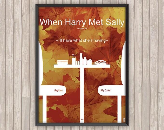 Quand HARRY RENCONTRE SALLY (When Harry Met Sally), l'affiche revisitée par Lino la Tomate !