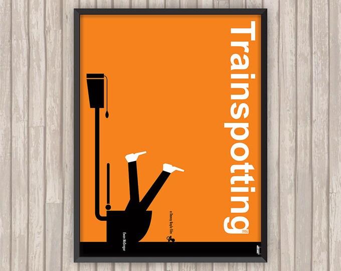 TRAINSPOTTING, l'affiche revisitée par Lino la Tomate !