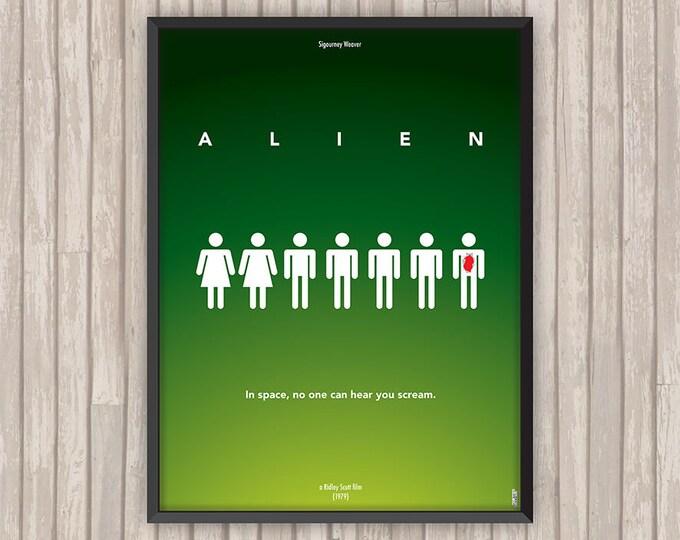 ALIEN, l'affiche revisitée par Lino la Tomate !