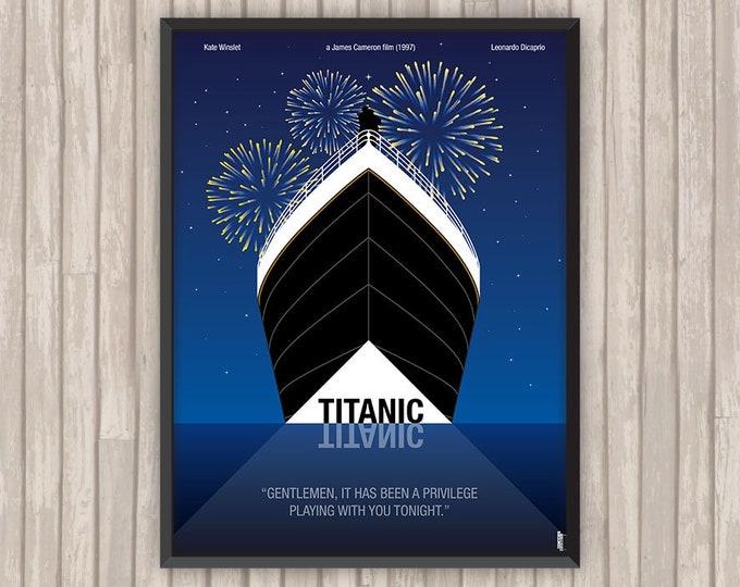 TITANIC, l'affiche revisitée par Lino la Tomate !