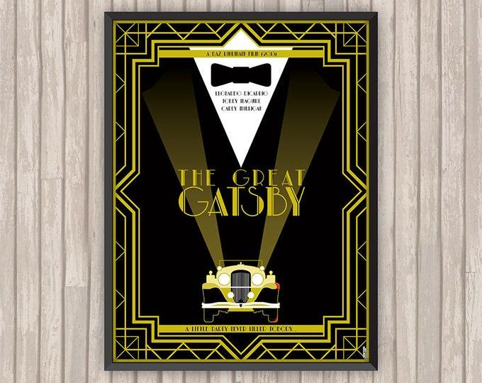 GATSBY LE MAGNIFIQUE (The Great Gatsby), l'affiche revisitée par Lino la Tomate !