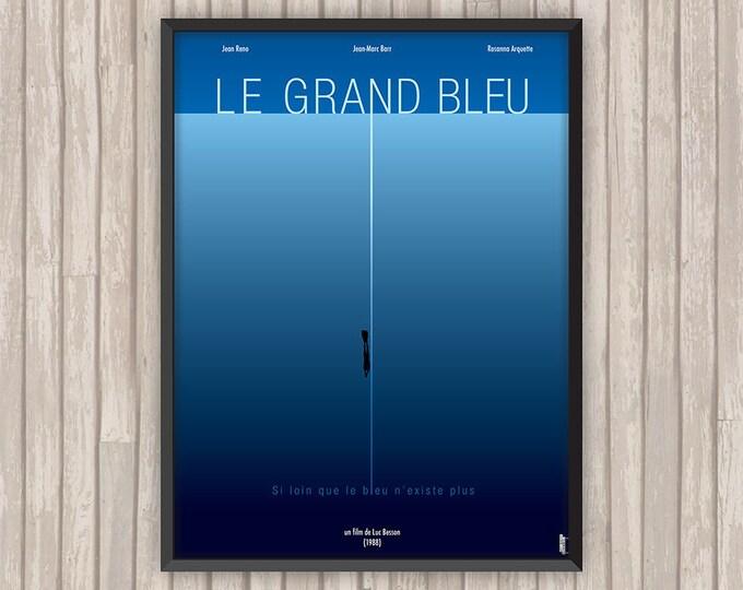 LE GRAND BLEU, l'affiche revisitée par Lino la Tomate !