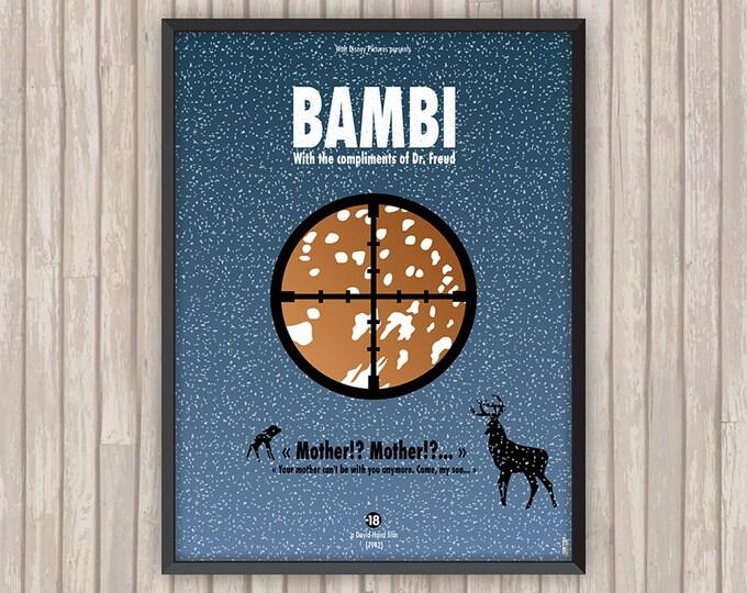 BAMBI, l'affiche revisitée par Lino la Tomate !