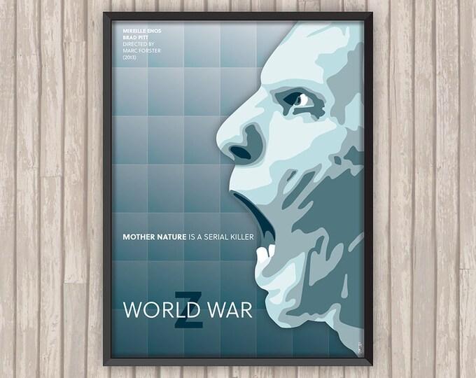 WORLD WAR Z, l'affiche revisitée par Lino la Tomate !